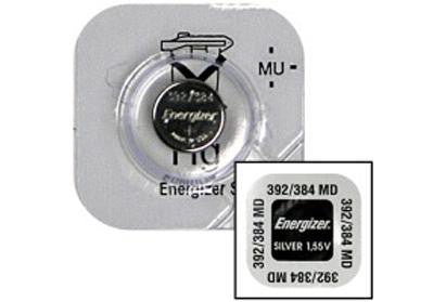 Energizer 392/384 Silver Oxide Watch Battery (754361598051)