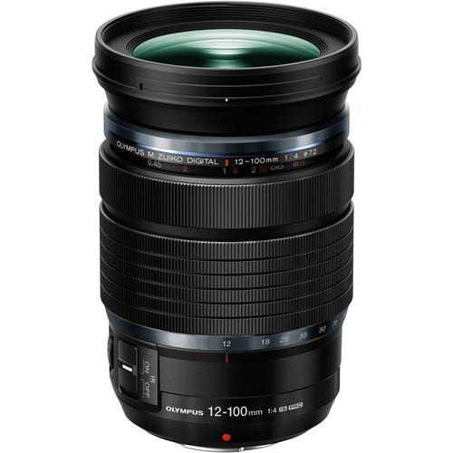 Olympus M.Zuiko Digital ED 12-100mm f/4 IS PRO Lens (576537690144)