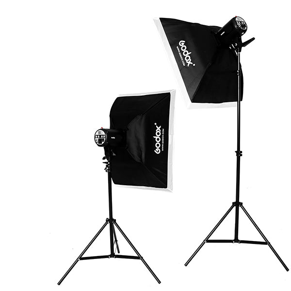 Godox MS200-F 2x Studio Light Kit (4022693462115)