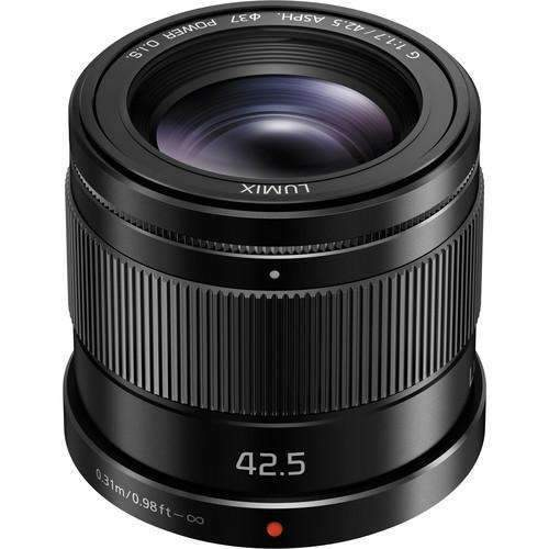 Panasonic Lumix G 42.5mm f/1.7 ASPH. POWER O.I.S. Lens - Panasonic - KAMERAZ (11333400775)