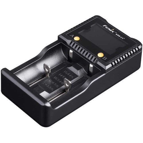 Fenix Flashlight ARE-C1+ Dual-Channel Smart Charger Plus for Li-Ion, NiMH, and Ni-Cd Batteries (1434761527395)