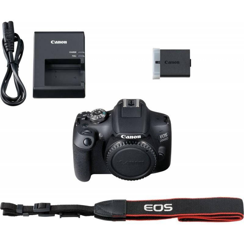 Canon EOS 2000D DSLR Camera (Body Only) (737015234659)