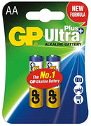GP Batteries Ultra Plus Alkaline AA 2 Pack (11465498887)