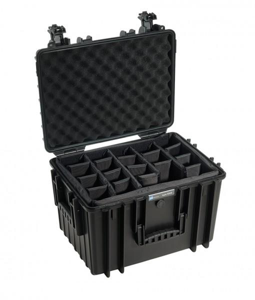 B&W International Type 5500 Hard Case (Black) Padded Insert (747992318051)