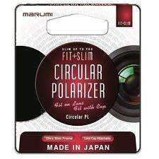 Marumi Fit + Slim Circular Polarizer (PL) Lens filter 62mm (7981474887)