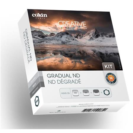 Cokin Graduated ND Filter Kit P Series, with Filter Holder & Graduated ND Filters (121L, 121M, 121S) (462675836960)