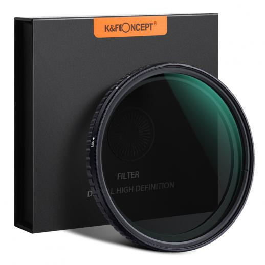 K&F 82mm ND8-ND128 Variable Neutral Density ND Filter Nano Coated (4401096163427)