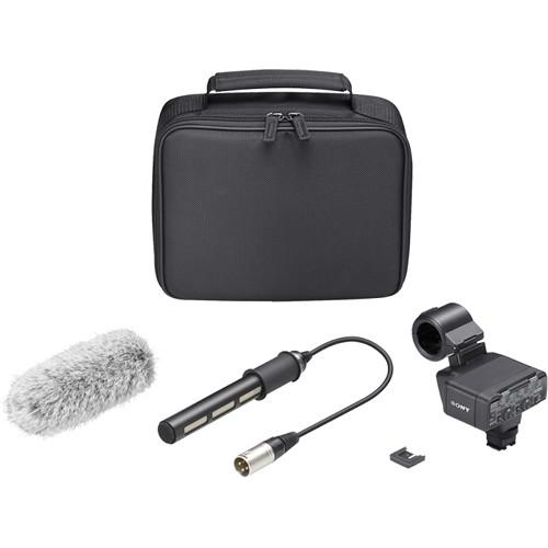 Sony XLR-K2M XLR Adapter Kit with Microphone - Sony - KAMERAZ (432197894176)