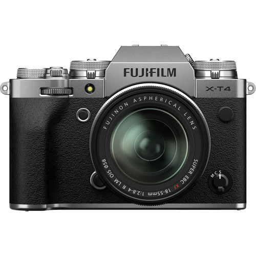 Fujifilm X-T4 Mirrorless with XF 18-55mm OIS (Silver)