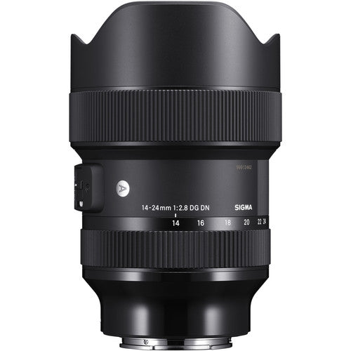 Sigma 14-24mm f/2.8 DG DN Art Lens for Sony E (4020810219619)