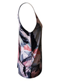 Hearted Drape Top -  Painted Art