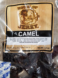 Exotic jerky, camel jerky all Natural and Healthy Jerky