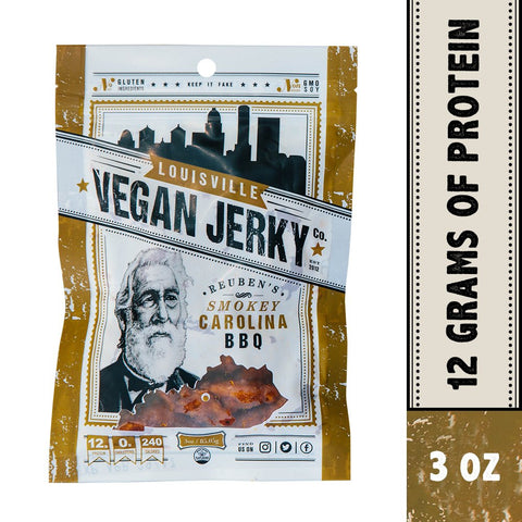Smokey Carolina BBQ Vegan Jerky