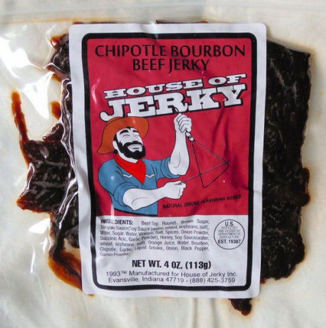 Chipotle Bourbon Beef Jerky