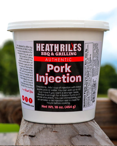 Heath Riles Pork Injection