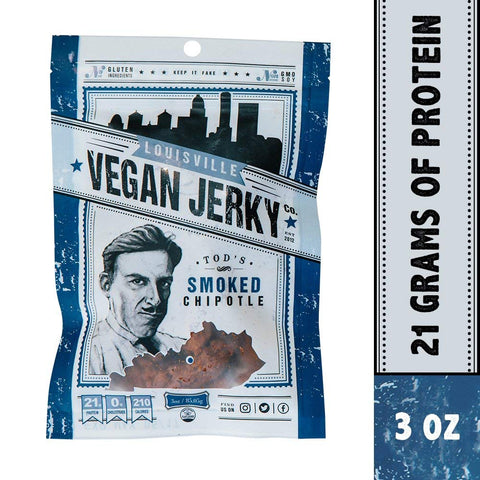 Smoke Chipotle Vegan Jerky