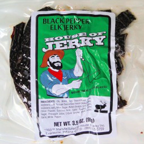 Fresh Elk Jerky all natural and healthy Jerky