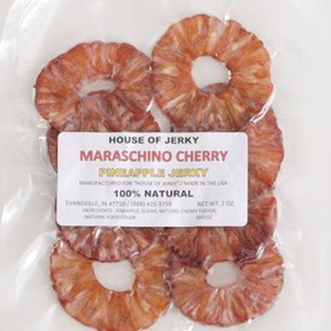 Maraschino Pineapple Jerky