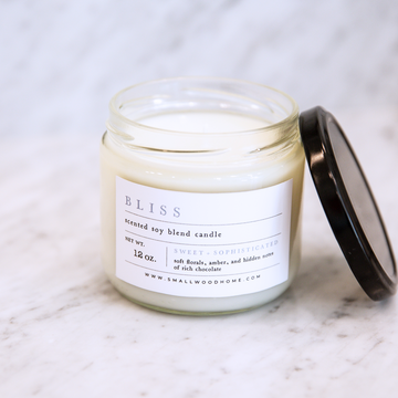 12 oz Cotton Wick Candle - Bliss