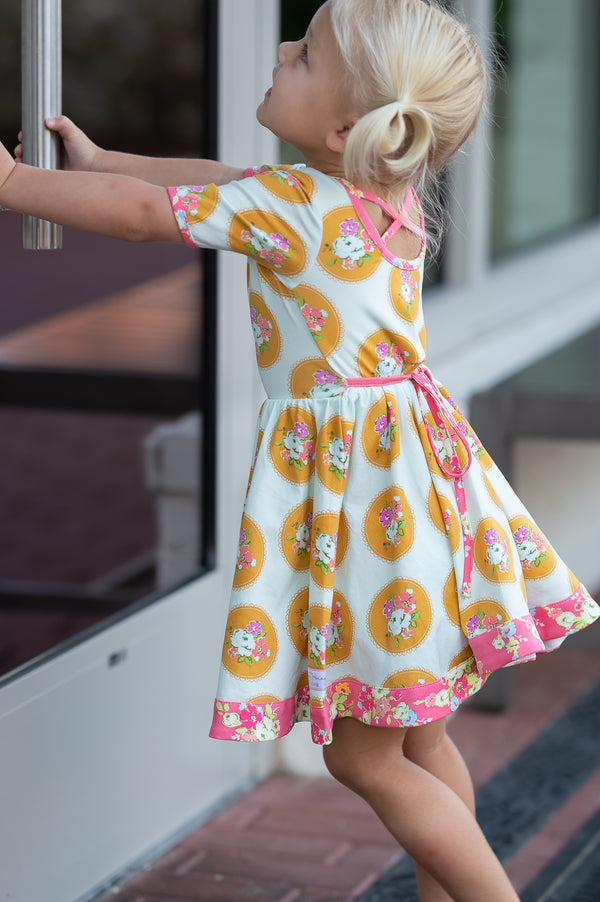 SweetHoney - Flair Dress - Nimble Fingers