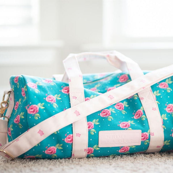 Whim + Wander - Everyday Duffel - Terrific Turquoise