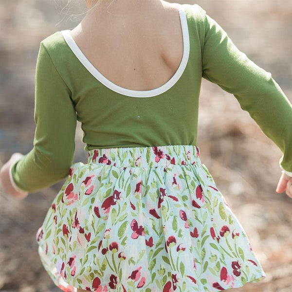 SweetHoney - Garden Skirt - Sweet Cream
