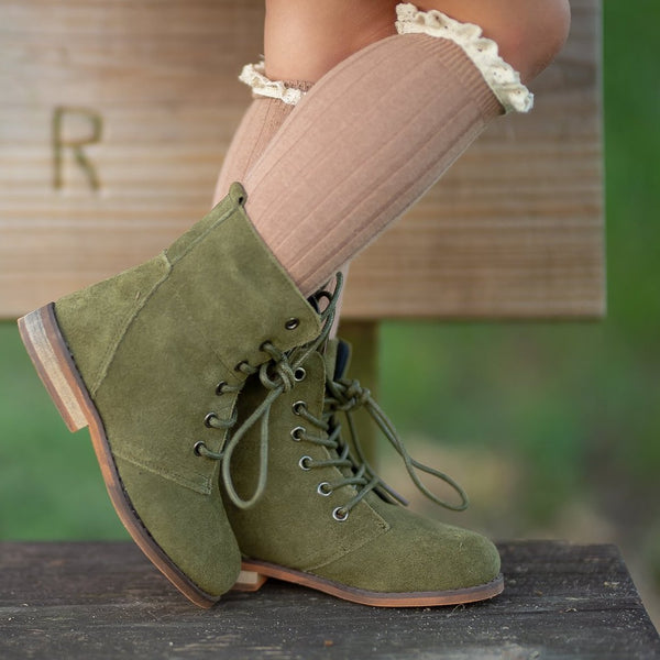 Whim & Wander - Sharp Boot - Moss
