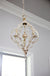 Donalt Crowned Three-Light Chandelier