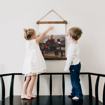 Hanging Canvas Photo