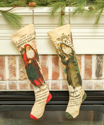 vendor-unknown - GIFT,SEASONAL - Vintage Christmas Stockings  - 1