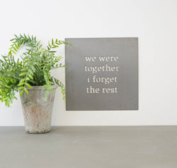 Metal Wall Art - Together