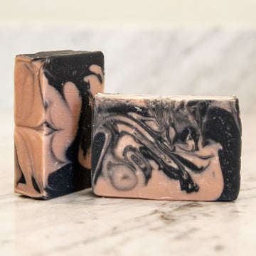 Back to Basics Bar Soap Collection - Activated Charcoal + Rose Clay