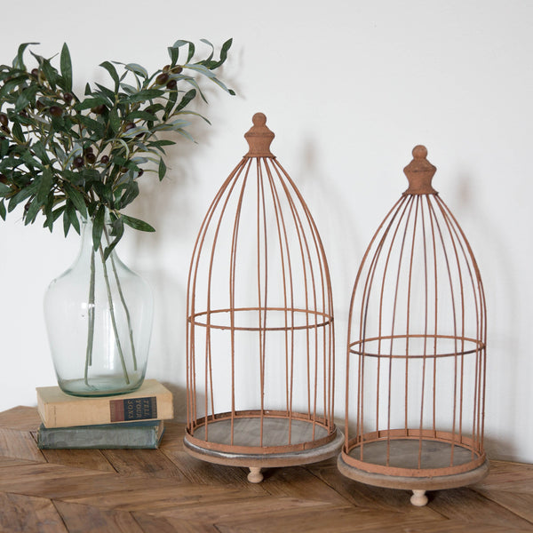 Rustic Birdcages - Set of 2