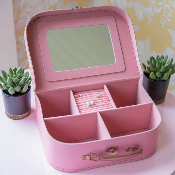 Suitcase Jewelry Box