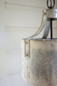 Galvanized Pendant Light