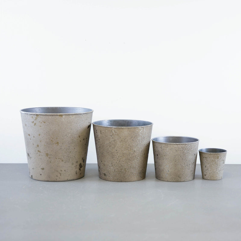 Bronze Pot - Set of 4