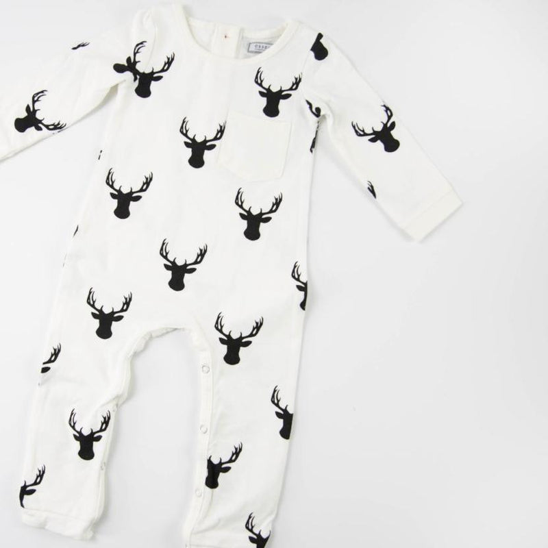 Everyday Essentials - Layette - Woodsy Deer FINAL SALE