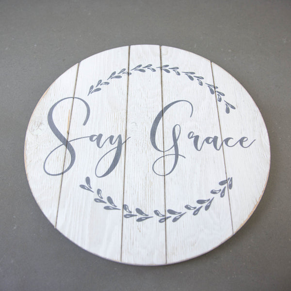 Lazy Susan - Say Grace