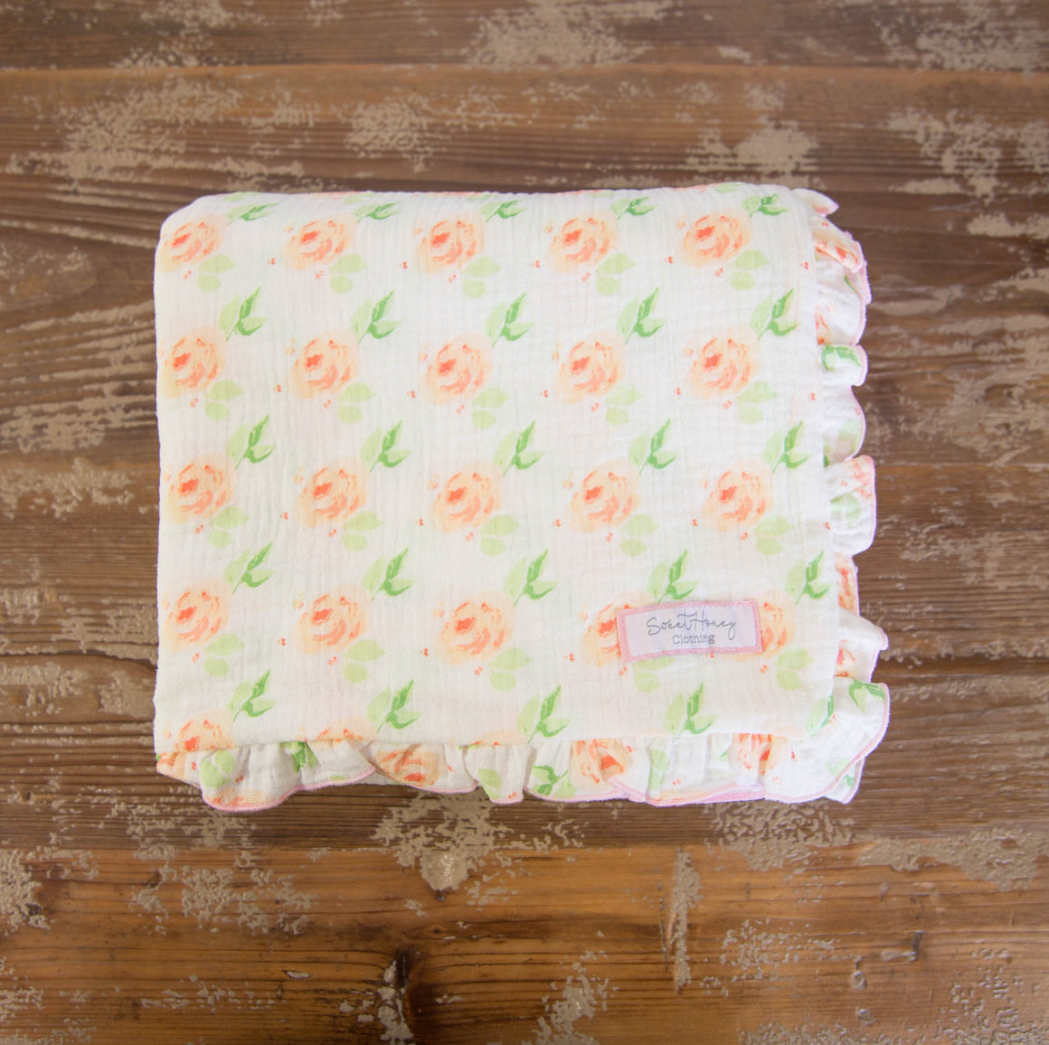 SweetHoney - Swaddle Blanket - Perfect Petals