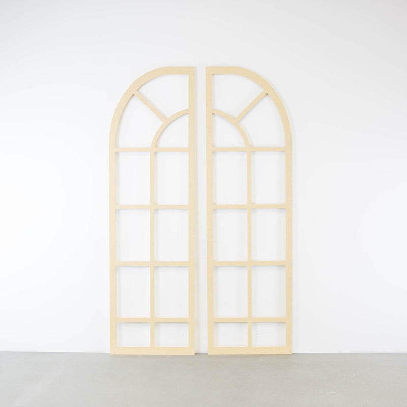 Architectural - Double Arch Window Frame Set