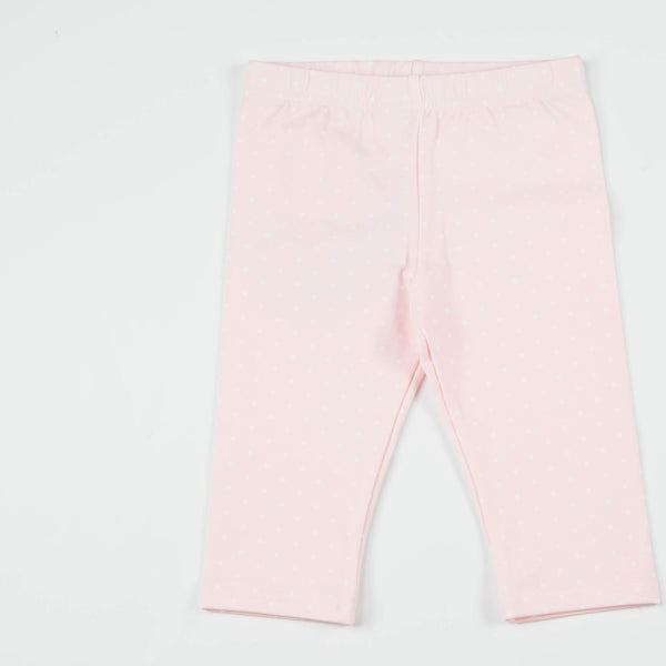 SweetHoney - Bicycle Capris - French Pink Dot