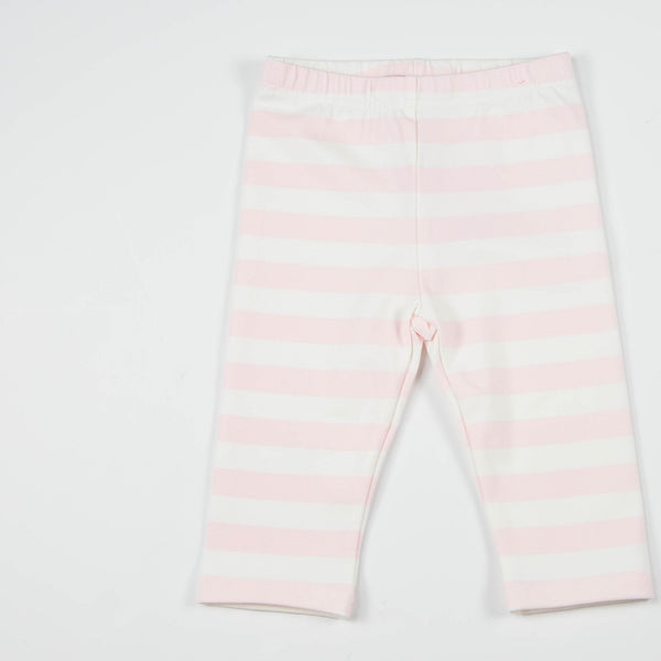SweetHoney - Bicycle Capris - Pink Stripe