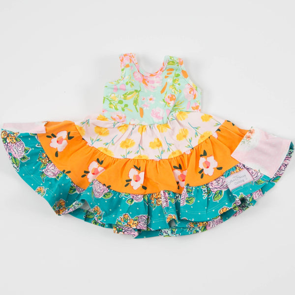 SweetHoney - Doll Dress - Seafoam