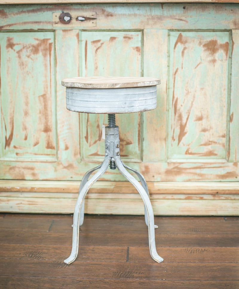Smallwoods - Resale - Vintage Metal Bar Stool  - 2