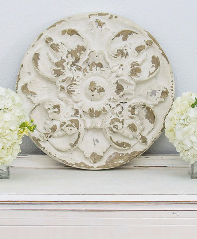 Smallwoods - Resale - Large Leaf and Floral Medallion  - 1