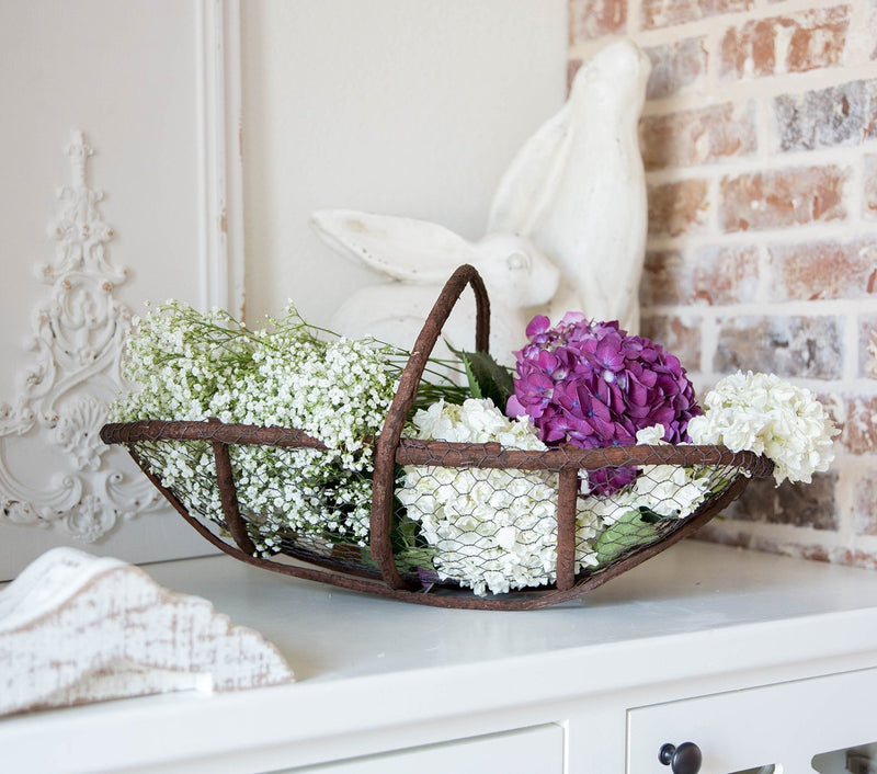 Twig and Wire Basket