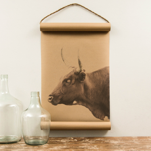 Wall Scroll - Bull - Regular Size