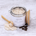 Cocoa Butter Sugar Scrub - Coffee