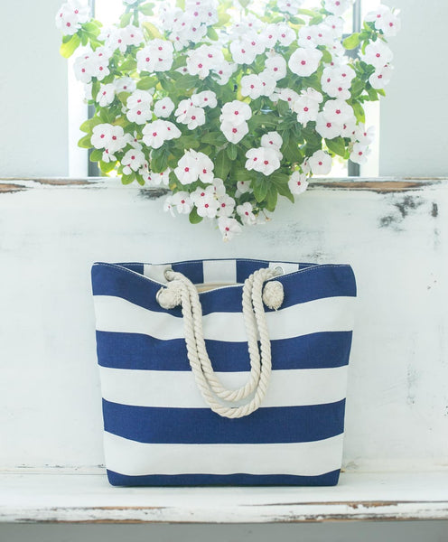 Smallwoods - BAGS / HOME DECOR - Stripe Tote Bag (Multiple Colors)  - 2