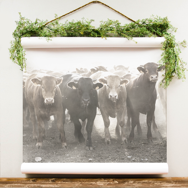 Wall Scroll - Cattle Run